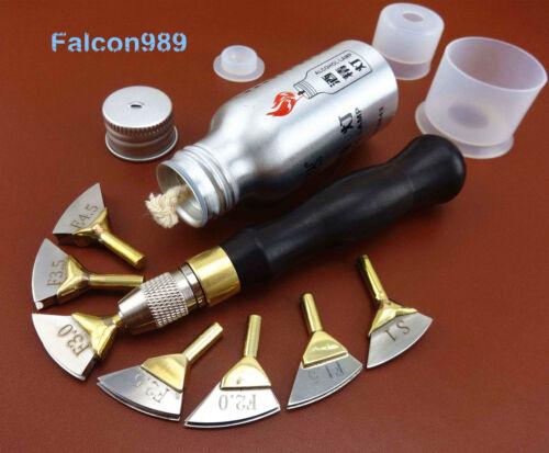 Leathercraft Soldering Iron Tip Edge Beveler Creaser Marking Press Decorate Tool