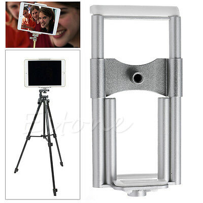 Universal Camera Stand Clip Bracket Holder Tripod Mount Adapter for Phone Tablet