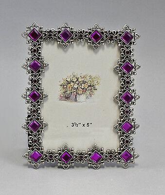 Espejos Violeta Con Piedras Ocupado Nuevo 9987154 High Quality And Low Overhead Arte Y Antigüedades Marco De Fotos Metal Rectangular Oro