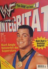 WWF WWE Magazin 7/00 7/2000 deutsche Ausgabe Kurt Angle + Big Show Riesenposter