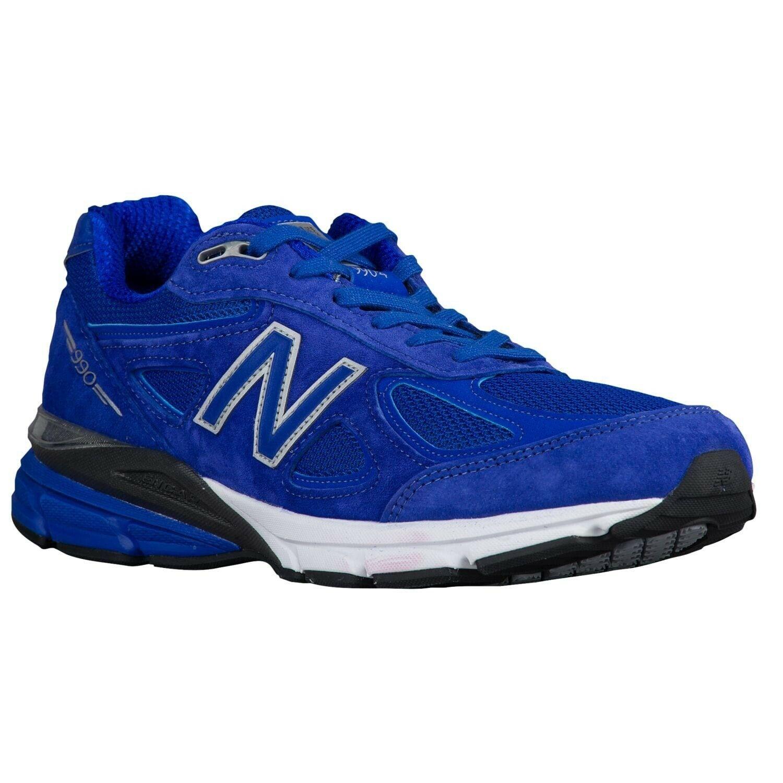 dd407fdcc7 Para Hombre 990V4 M990RY4 clásico Atlético NEW BALANCE zapatos talla 11.5  Ancho 2E Azul EE.