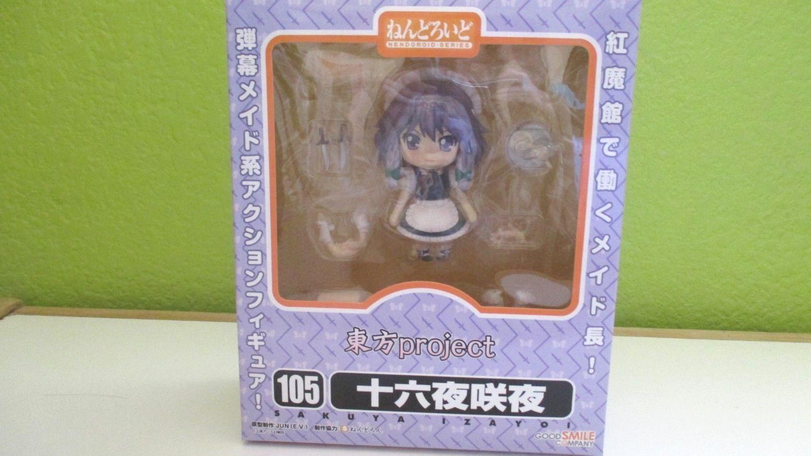 Touhou Project Sakuya Izayoi Nendgoldid 105 Figure Good Smile Company Authentic