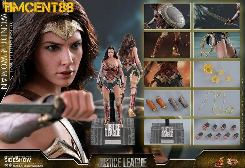Hot Toys - Wonder Woman - MMS450 - Justice League 1/6 Scale Figure