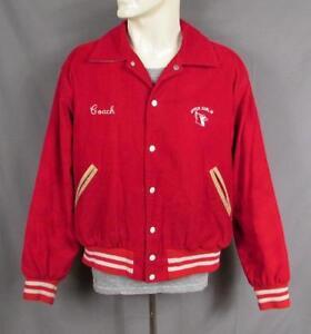 5aeb633df Vintage Upper Dublin High School Varsity Jacket Corduroy Sz.L ...