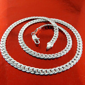 Necklace-Pendant-Chain-Real-925-Sterling-Silver-S-F-Solid-Ladies-Antique-Design