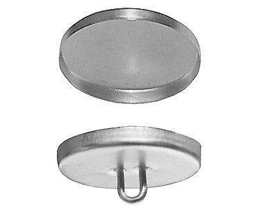 "50:Osborne Button-Wire Eyes w//Aluminum Shells  #44 Size 22 9//16/"" dia 77030"