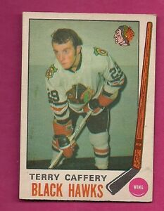 1969-70-OPC-135-HAWKS-TERRY-CAFFERY-ROOKIE-EX-MT-CARD-INV-2474