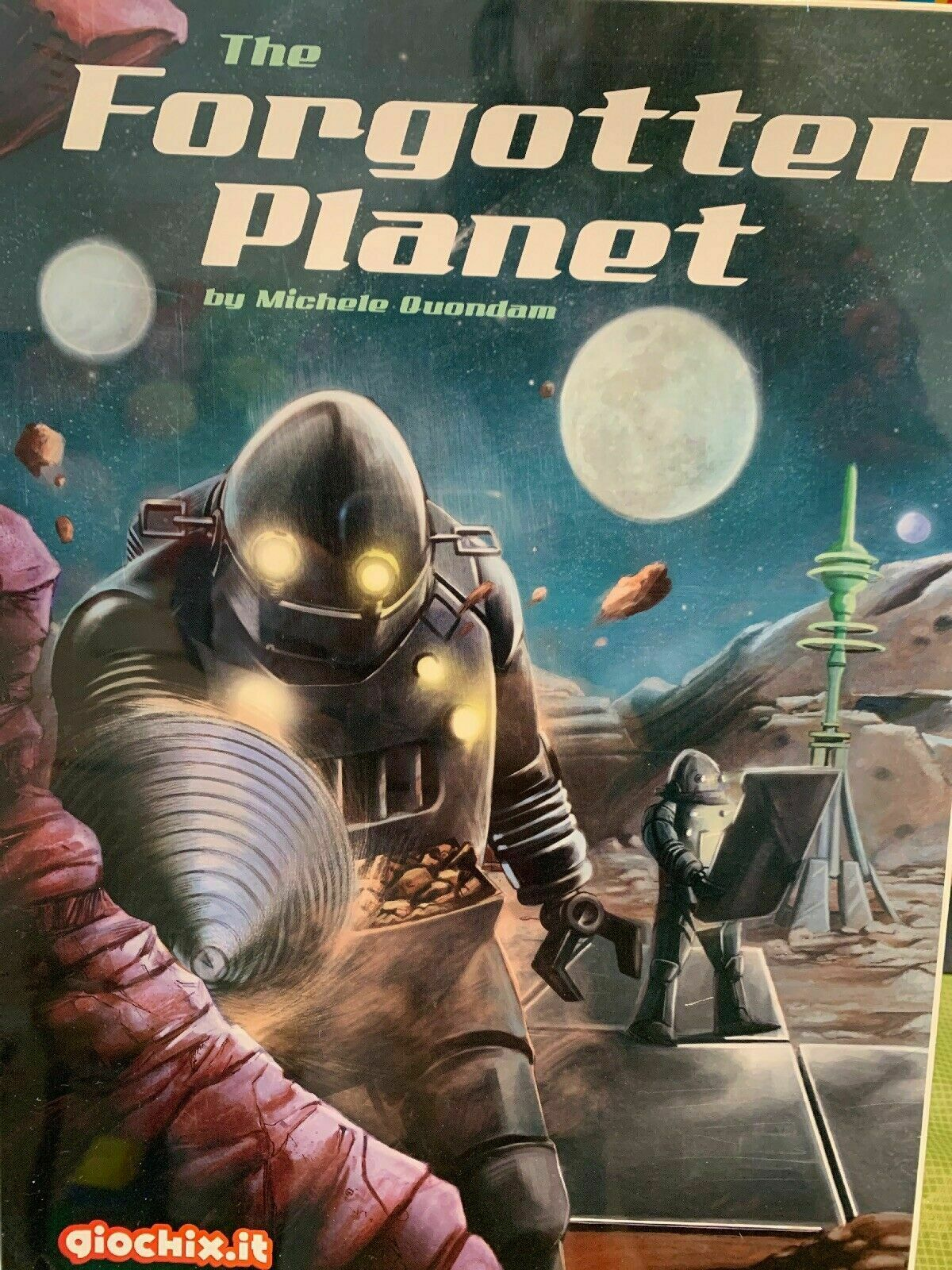 Forgotten Planet Board Game - NEW SEALED