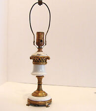 Hollywood Regency Table Lamp for Parts or Restoration  AS IS