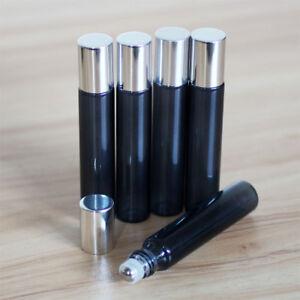 10ml-Empty-Glass-Roll-On-Bottle-Essential-Oil-Roller-Ball-Bottles-Perfume-Set-amp-amp