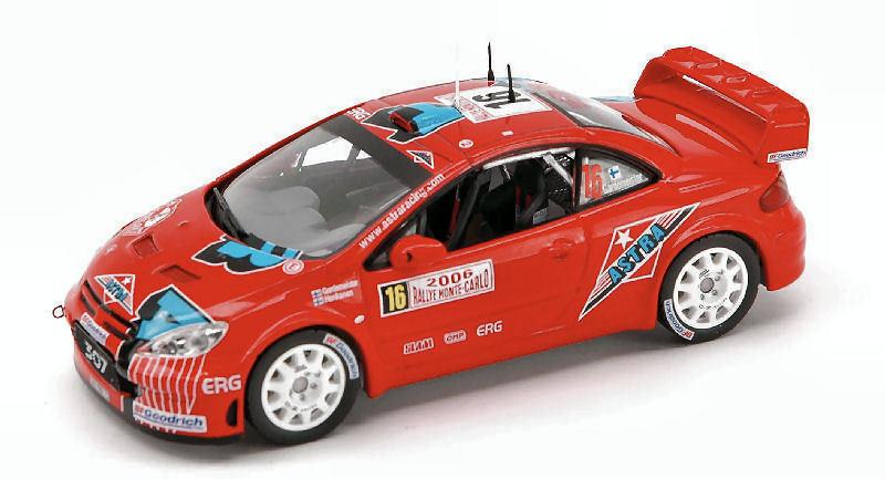 Peugeot 307  16 Monte Carlo 2006 1 43 Model RAM211 IXO MODEL