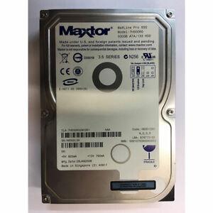 MAXTOR 500GB DESCARGAR DRIVER