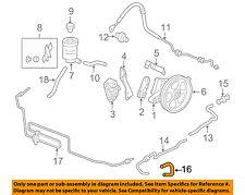 Genuine Honda Power Steering Cooler Tube 53765-SWA-000