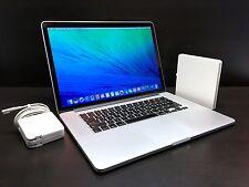 15 MacBook Pro RETINA OSX 2015 *2.3Ghz Core i7 / 512GB SSD* One Year Warranty!