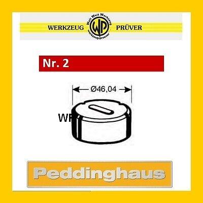Peddinghaus Langlochmatrize Nr.2 Rot 9,7-18,7mm Frei Wählbar Langloch-matrize