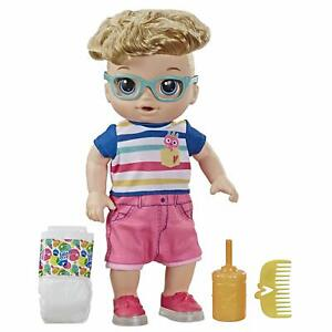 Baby Alive Step 'N Giggle Baby Blonde Hair Boy Doll with ...