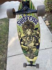 32.0 WB Santa Cruz Face Ripper Drop Thru Complete Skateboard,Black,41.0 L X 9.2 W