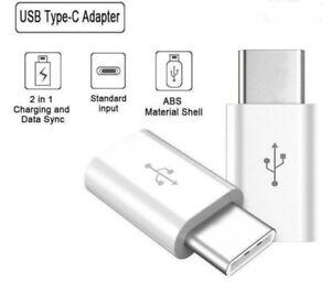 USB-3-1-USB-C-Type-C-male-to-Micro-USB-female-Data-Adapter-Converter-WHITE