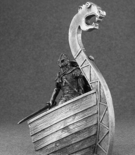 Viking 1//32 Action Figurine Handmade Tin Metal Antique Toy Soldier 54mm