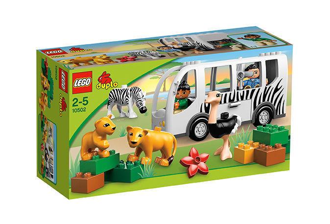LEGO Duplo Safari-Bus (10502), neu und OVP, ungeöffnet