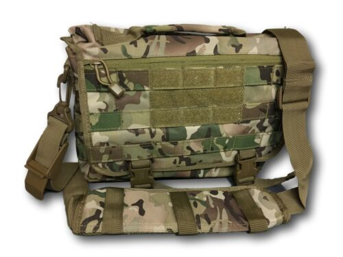 Military Style Molle Shoulder Bag,Camouflage and plain options ipad 1 notepad