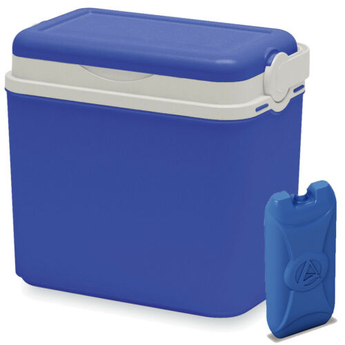 10 Litre Cooler Box Camping Beach Picnic Travel Insulated Coolbox 1 Ice Pack