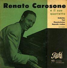 CAROSONE E IL SUO QUARTETTO CIRIBIRIBIN EP VG+ VG+