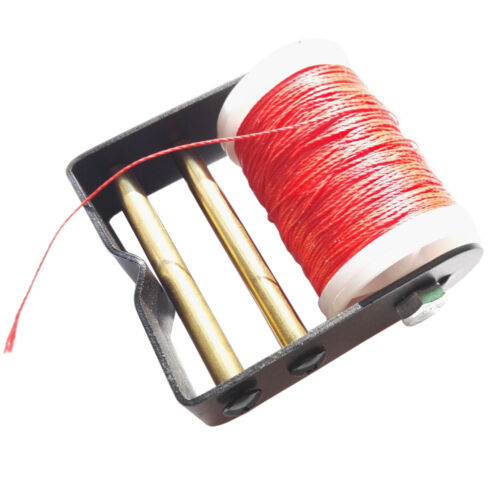 Archery Bowstring Serving Thread Cord Line with Metal Bow String Server Jig Tool