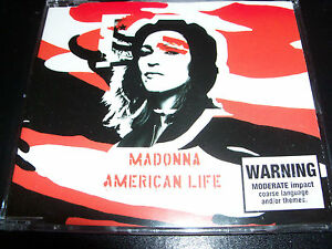 Madonna-American-Life-Australian-Red-Cover-CD-Single-Like-New