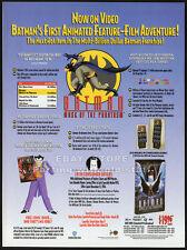 BATMAN : MASK OF THE PHANTASM__Original 1994 Trade Print AD / movie promo