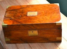 Antique wooden writing slope