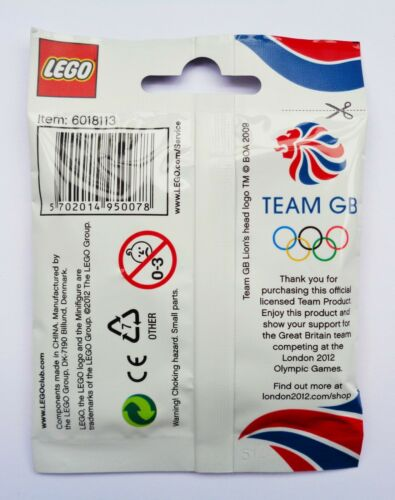 RARE CHOOSE YOUR OWN 8909 // OLYMPICS // BRAND NEW LEGO MINIFIGURES TEAM GB