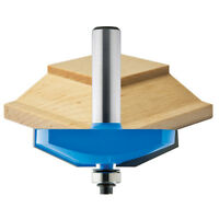 Rockler Shaker Horizontal Raised Panel Router Bit, 2-1/2 Dia. X 5/8h X 1/2'...