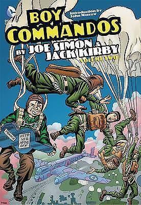 Boy Commandos by Joe Simon and Jack Kirby HC Vol 2 Hardback