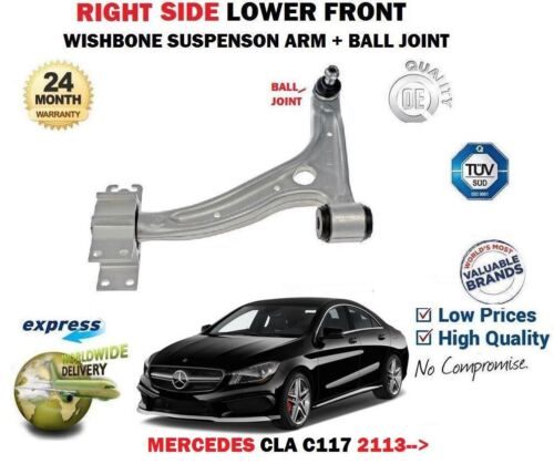 /> avant droite Wishbone Suspension bras Pour Mercedes CLA Coupe 2013 rotule