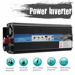 Auto-5000W-Power-Inverter-12V-220V-Wechselrichter-Spannungswandler-USB-Ladegeraet