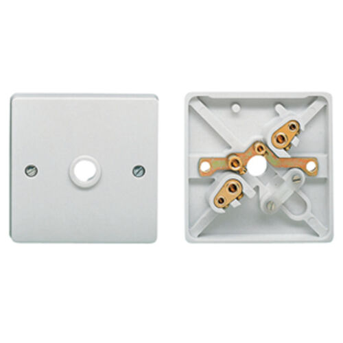 FLEX OUTLET PLATE 5 X CRABTREE 4075 1 GANG 1G 20A CORD