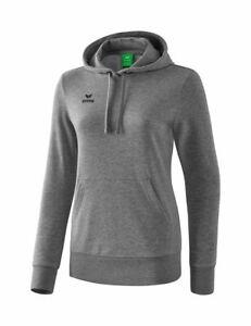 Details about  /Erima Sports Training Womens Hoodie Hooded Sweatshirt Long Sleeve Top Sweater