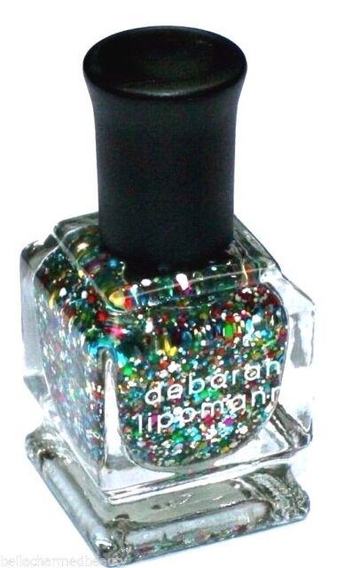 Deborah Lippmann HAPPY BIRTHDAY Luxurious Glitter Nail Polish Deluxe Mini, 8 ml
