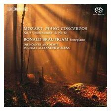 Ronald Brautigam, W.a. Mozart - Piano Concertos [New SACD]
