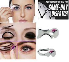 Plantilla de los modelos de la plantilla perfecta Gato Delineador Modelador delineador de herramientas de maquillaje de fondo