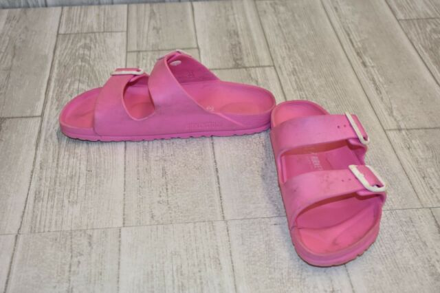 **Birkenstock Arizona EVA Sandals, Women's Size 37 N (US 6 N), Pink DAMAGED