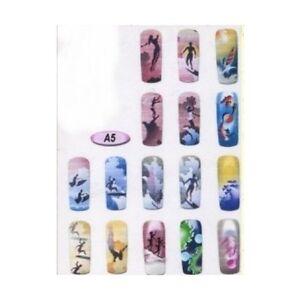 Airbrush Stencil Designs Nail Art Sports Theme A5 Ebay