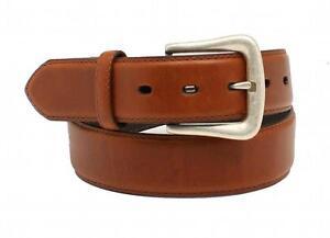 Nocona Western Mens Belt Smooth Leather Rich Brown N2450002