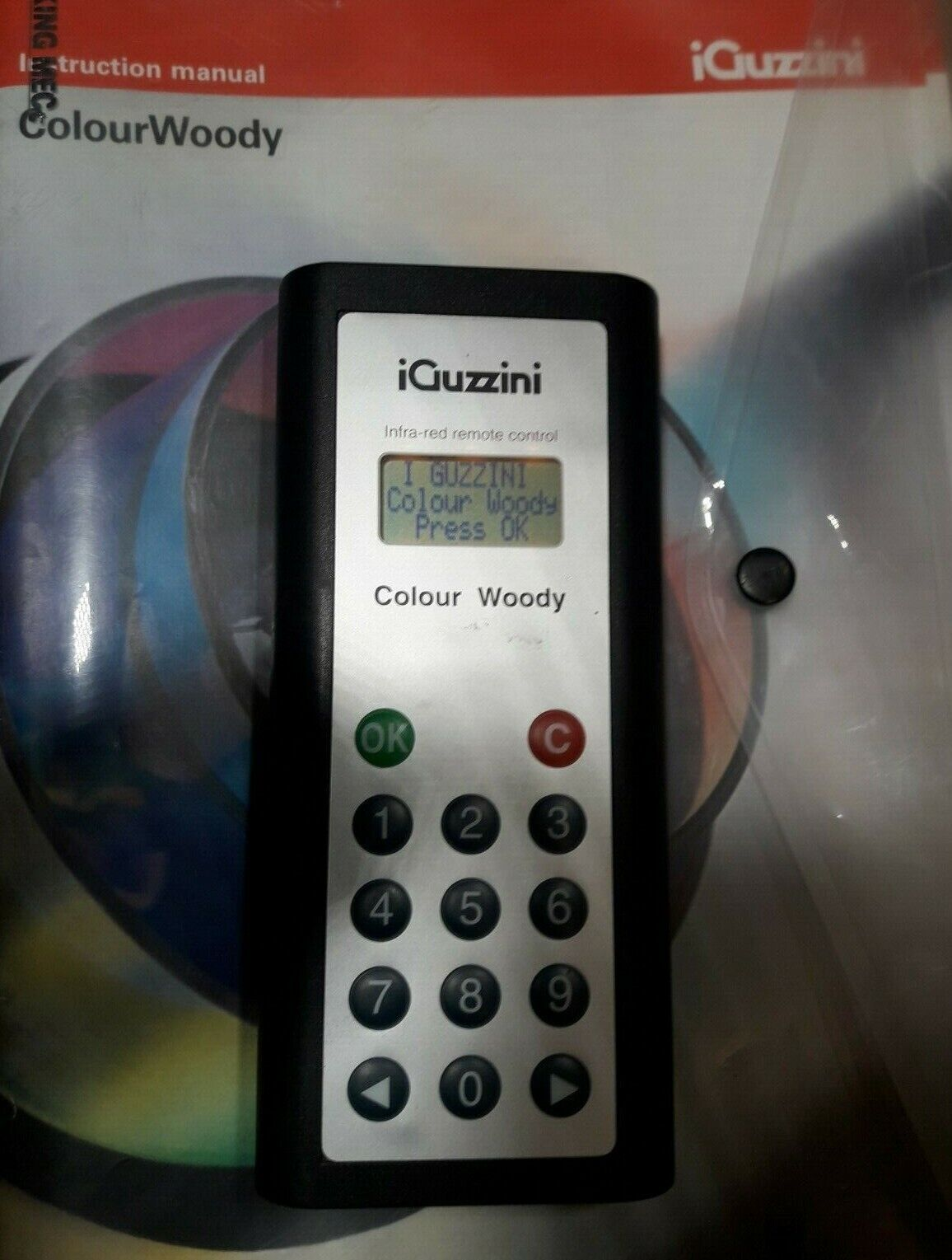 IGuzzini Colour Woody Remote Control Fernbedienung Steuerung Infrarot Infrarot