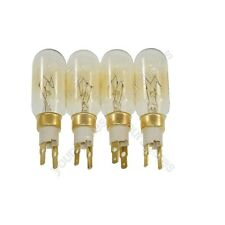 4 x American Style T Click 40W 240V Fridge Freezer Bulb Lamp Fits Smeg
