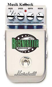 Marshall-RG1-RG-1-Stereo-Modulation-6-Effekte-in-einem-PEDL-10036-Regenerator