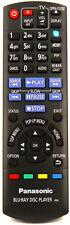 PANASONIC DMP-BDT110EB Original Remote Control
