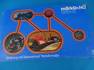 Marklin-2930-Starter-Set-034-S-034-Steamer-2-Personenwagen