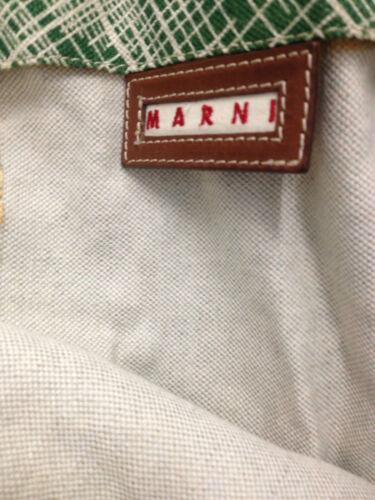 Marni Green Green Bag Marni Shopping white 8q0PwR